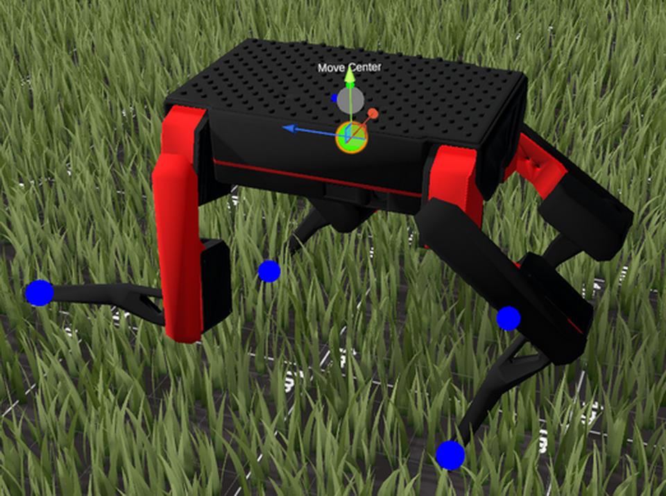 3D拖拽 – 足部控制